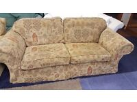 Three Seater Fabric Sofa in Excellent Condition