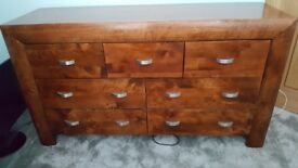 For Sale chest of drawers and 2 bedside tables