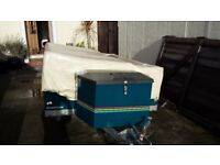 Raclet Marathon trailer tent/folding camper. Spares or repair