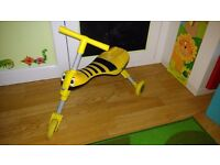 Scuttlebug Yellow Bumblebee Tricycle