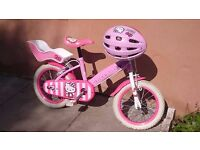 Hello kitty bike from halfords 14''