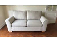 Cream Marks and Spencer Sofa bed *Immaculate Condition*