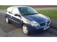 Renault Clio 2007. Only 35k. 12 months MOT. 2 X LADY OWNERS .