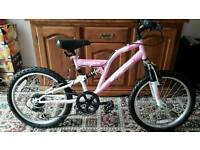 GIRLS SILVER FOX SPHERE BIKE