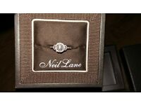 **NEIL LANE!! NEW DIAMOND/WHITE GOLD RING**