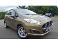 2012 FORD FIESTA 1.25 ZETEC 5dr FACELIFT WITH 36,000 MILES. BARGAIN PRICE, CHEAP TO RUN. clio corsa