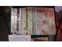 Wedding cake magazines.