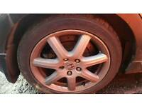 2006 HONDA CIVIC ALLOY WHEELS