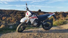 Yamaha XT125 X Supermoto style road legal learner motorbike