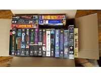 Box of classic movies & more - VHS