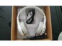 bluedio h+ bluetooth headphones white