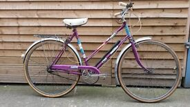 Raleigh Campus Retro Vintage Eroica Classic Kitch Rare Collectable Ladies Town and Country Bike