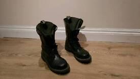 Steel boots