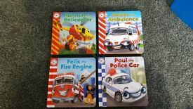 Emergency Vehicles Books