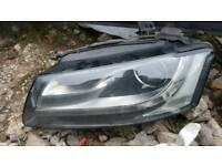 Audi a5 pre facelift s line n/s/f xenon headlight with bulbs and ballast 07-12