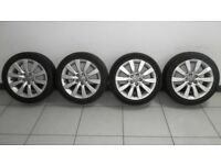 Audi A1 Alloy Wheels with Tyres Genuine Audi 215/45/R16.