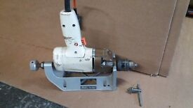 Horizontal bench stand & electric drill