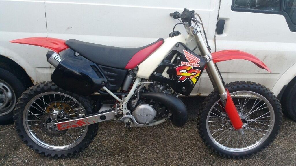 1991 Honda Cr250 Off Road Motocross Dirt Bike Spares Repair Or