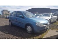 Immaculate Corsa low miles long MOT real bargain similar clio punto peugeot ford