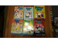 Family Guy DVD Boxsets S1-6