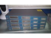 Cisco Catalyst 2950 Network Switches - 24 Port 10/100