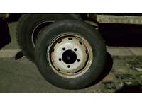 Nissan cab star spare wheel brand new tyre