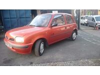 NISSAN MICRA 1.0....STARTS AND DRIVES..QUICK SALE