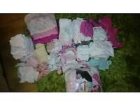 Baby girls clothing bundle