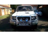 Mitsubishi Pajero 4X4 2.8 Turbo Diesel 1997 SWB FULL MOT good condition BARGAIN Great Car