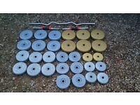 QUANTITY OF WEIGHTS AND BARS