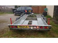 Motiv Car Transporter Trailer with Electric Winch