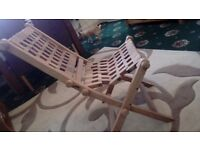 hard wood garden chairs