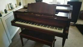 Bluthner Style 4 grand piano