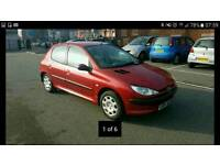 2004 PEUGEOT 206 5 DOOR WITH A FULL 12 MONTHS MOT, EXCELLENT DRIVER