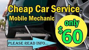 MINOR CAR SERVICE FOR $60 - Mobile Mechanic 7 days/week Deer Park Brimbank Area Preview