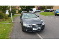 Audi A6 quattro grey 2005 keyless entry keyless start xenon sat nav heated seats leather parking aid