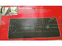 Microsoft Wireless Keyboard and Wireless Mouse