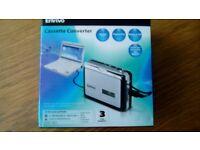 Envivo Cassette Converter to CD/MP3 50815 New Sealed