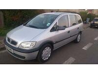 Vauxhall Zafira 1.6 mot till 30/05/17