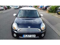 2007 MINI COOPER FULLY AUTOMATIC WITH SHIFT PADDLE PETROL 1.6L BLACK