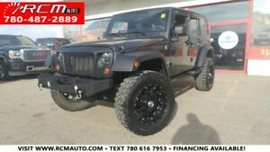 2010 Jeep Wrangler Unlimited Sport 4X4 SUV - YOU ARE APPROVED