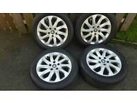 16inch genuine vw seat leon genuine alloys rims wheels fit passat jetta caddy van golf mk5 6 7 etc