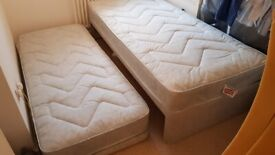 Guest bed - single with additional pull out bed