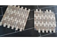 4 bathroom mosaic tiles