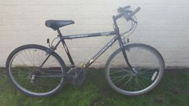 Rampage universal hybrid bicycle 26 inch wheels £30