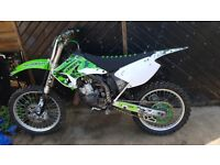 Kx 125 2006 selling due to getting a new bike