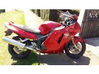 Honda XX Superblackbird 1100cc Motorbike £1700 ono 34500 miles