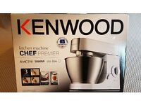 Kenwood Chef Premier KMC510 4.6 Litre.. Hardly used, in original box With Instructions.