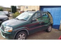 Suzuki ignis 2001, well maintained car,has MOT till February 2018.