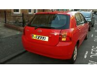 Toyota Corrolla 1.4 RED Excellent Condition Petrol